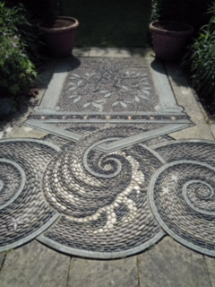 Mosaics at Gresgarth Hall
