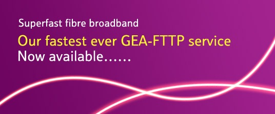 FTTP available Now