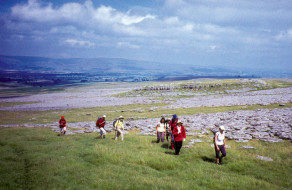 Ramblers on Great Asby Scar