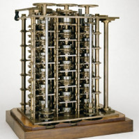 A portion of  Difference Engine No.1, 1832.  Photo: Science Museum.
