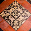 Tiled Floor - St Lawrence Church, Crosby Ravensworth