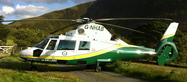 Pride of Cumbria Air Ambulance