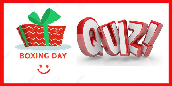 Boxing Day Quiz