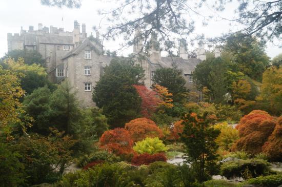 Sizergh Castle Gardens in Autumn