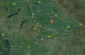 Hybrid Google Map showing Asby Parish's location